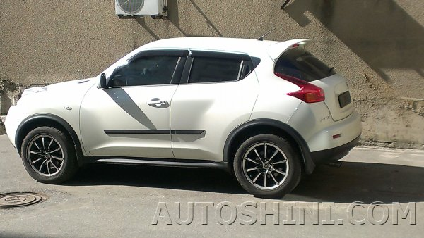 Nissan Juke на дисках Marcello AIM-290