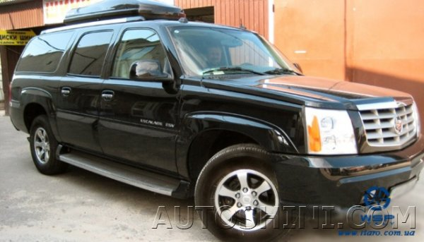 Cadillac Escalade на дисках WSP Italy W1707