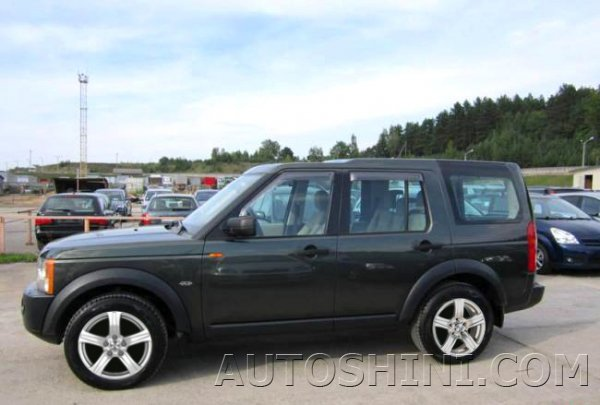 Land Rover Discovery 4 на дисках ZW 337