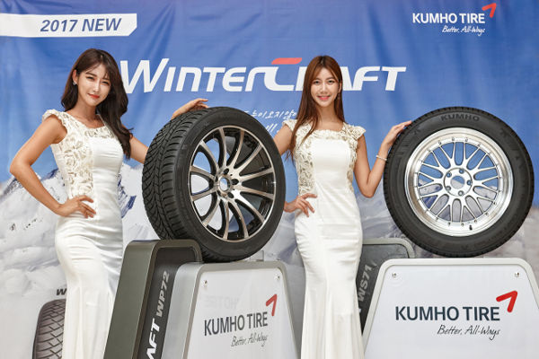 Kumho представляет WinterCraft WS71 и WinterCraft WP72